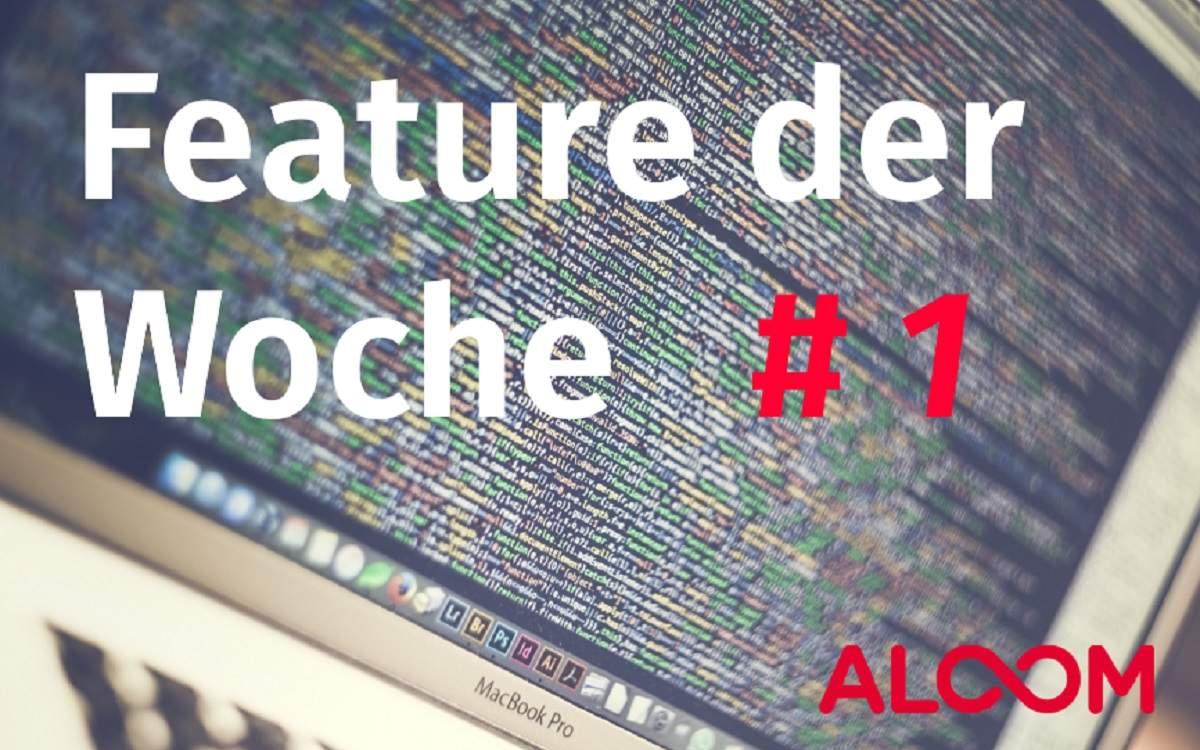 ALOOM.de - FEATURE DER WOCHE #1 - der Messenger